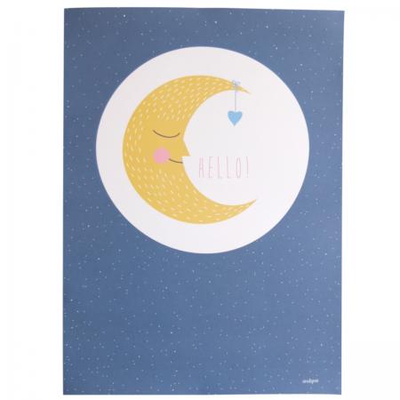 Poster Mond Ava & Yves