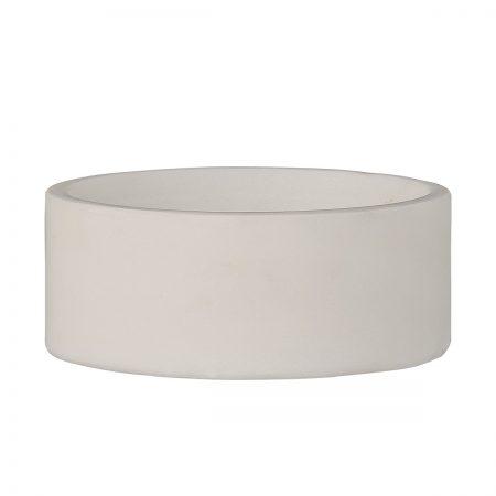 Schale aus weißem Marmor Bloomingville