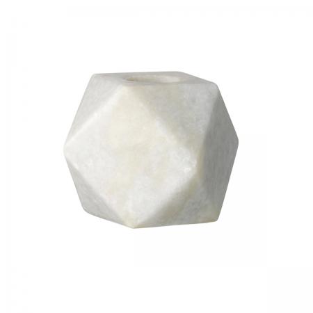 Kerzenhalter grauer Marmor Bloomingville