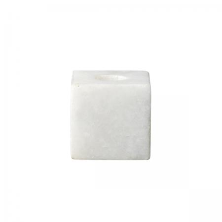 Kerzenhalter weißer Marmor Bloomingville