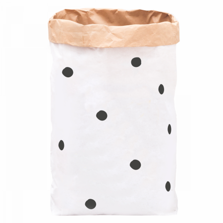 Papiersack schwarze Punkte Eulenschnitt
