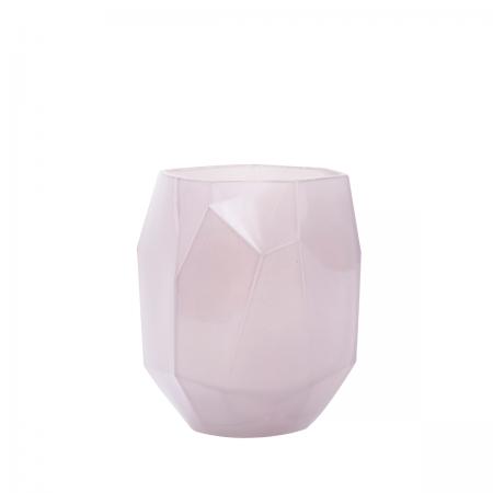 Vase Azym Glas rosa House Doctor