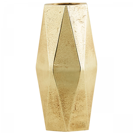 Vase Geometry gold groß House Doctor