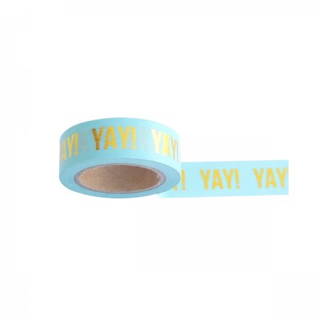 Washi Tape mint YAY Studio Stationary