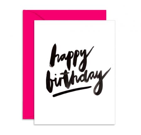Klappkarte happy birthday Daydream Prints