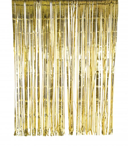 Glitzervorhang gold offen von Talking Tables