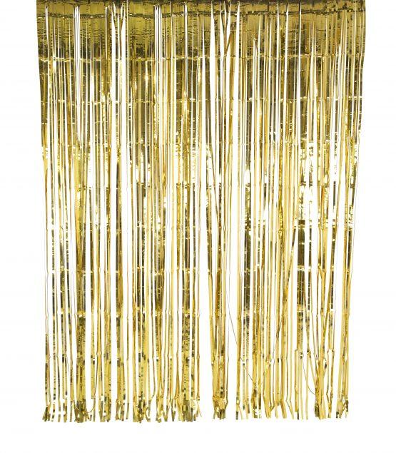 Glitzervorhang gold offen von Talking Tables