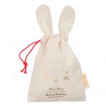 Meri Meri Babyschuhe Hase rosa verpackt