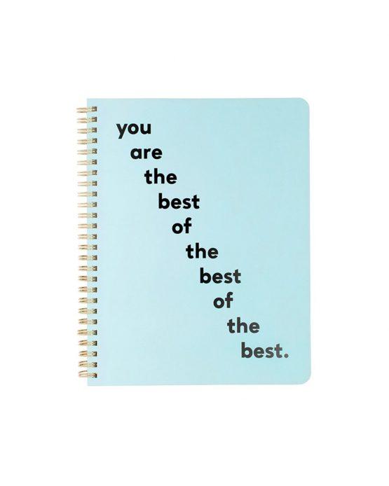 Notizbuch You Are The Best von ban.do