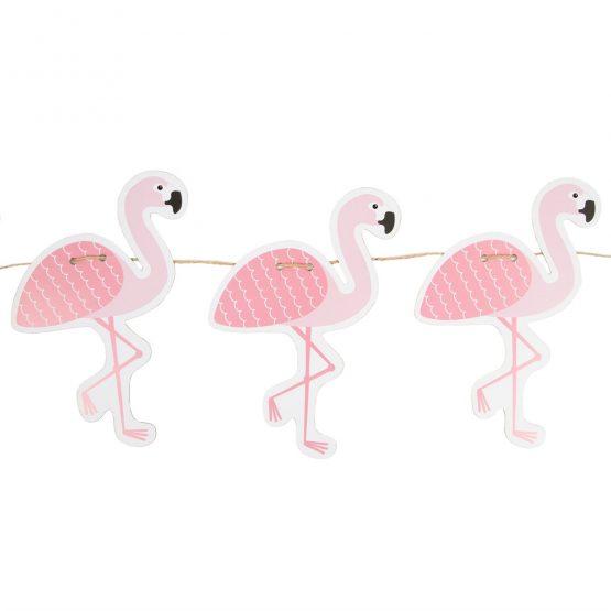 Girlande Flamingo von Sass & Belle - www.shop-hygge.de