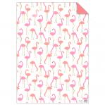 Meri Meri Geschenkpapier Flamingo Blatt