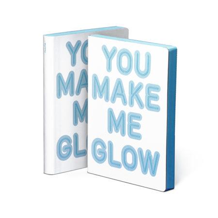 Notebook You make me glow