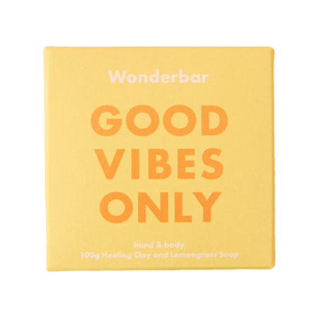 Good vibes only soap