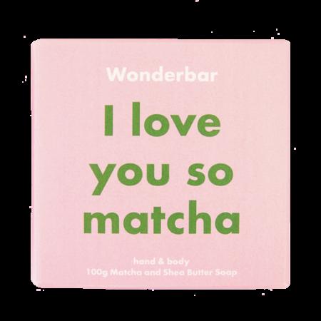 I love you so matcha soap