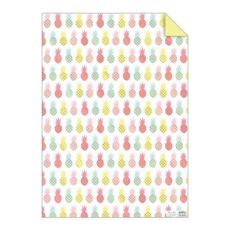 Ananas Geschenkpapier