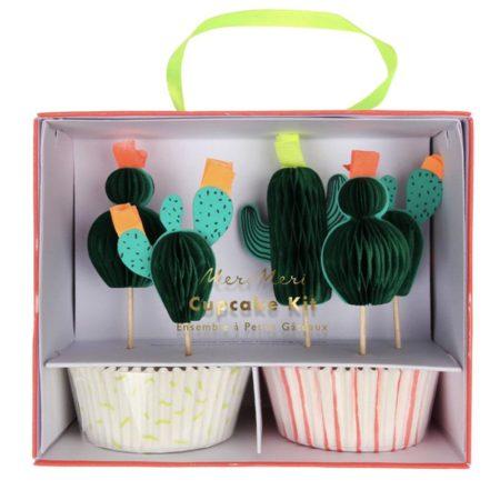 Kaktus Cupcake Kit