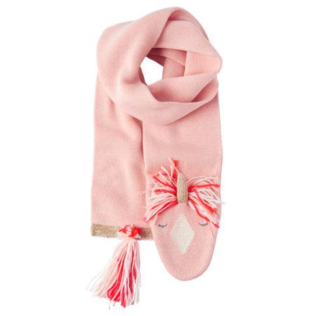Gestrickter Einhorn Schal