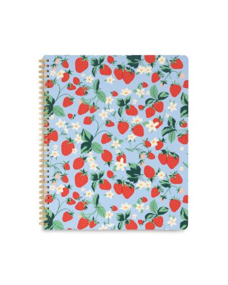 Strawberry Fields Large Notebook